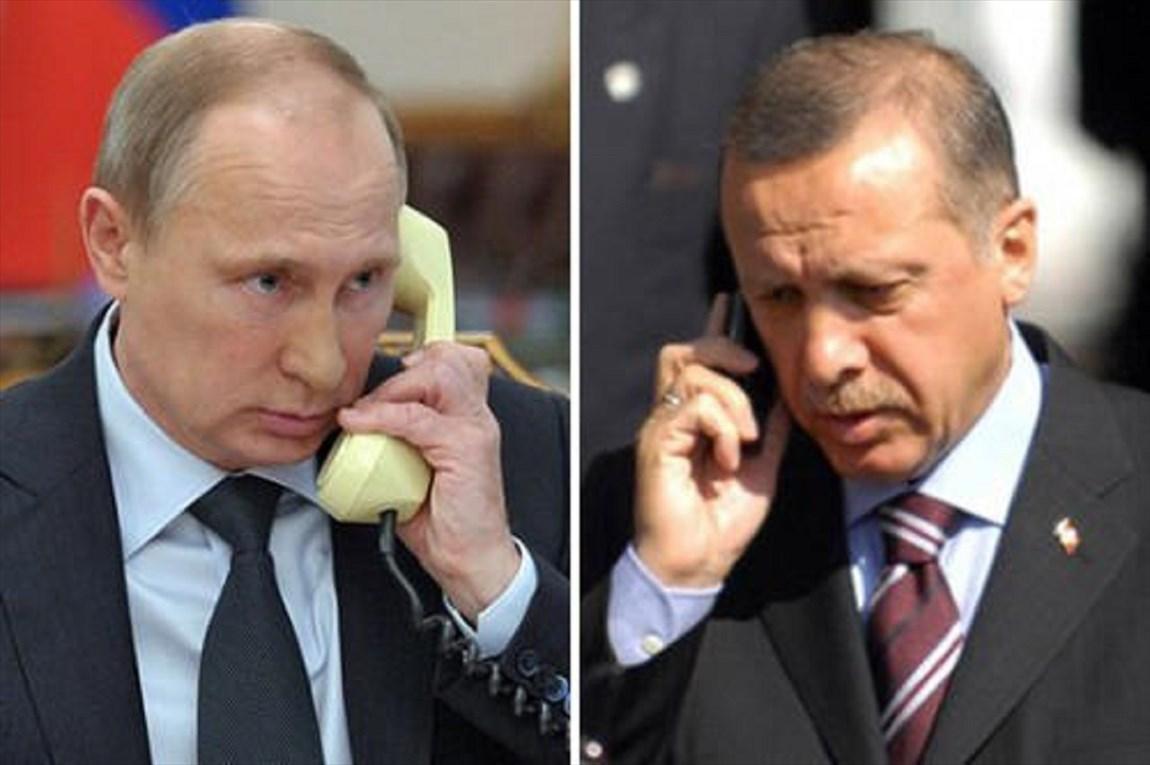 پوتین و اردوغان درباره لیبی مصاحبه کردند