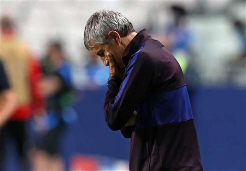 ستین: این شکستی فوق العاده دردناک بود، تغییرات آینده در بارسلونا به من بستگی ندارد