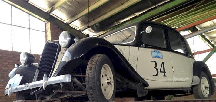 خودرو سیتروئن به موزه خودروهای سلطنتی رسید