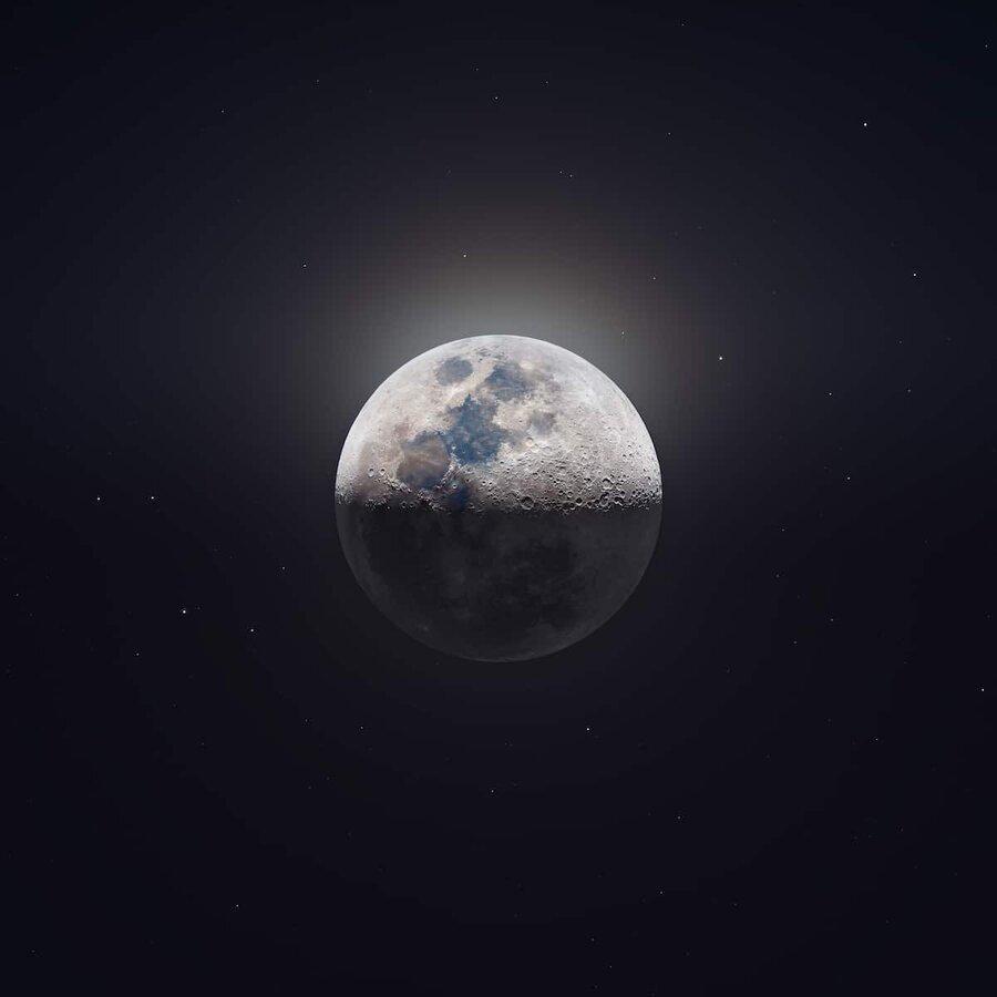 دانلود با کیفیت ترین عکس از ماه