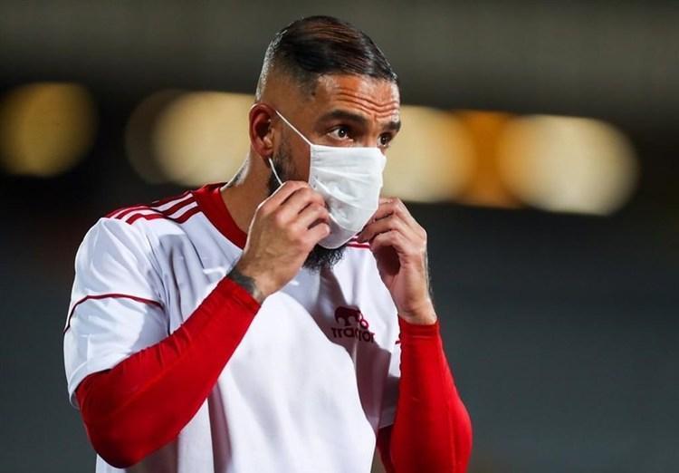 (عکس) واکنش جنجالی دژاگه به عدم حضورش در لیست تیم ملی
