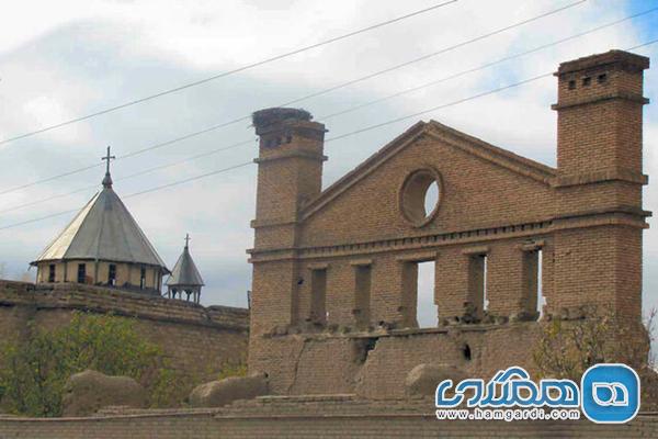کلیسای هفتوان نمادی باقی مانده از دوره صفوی است