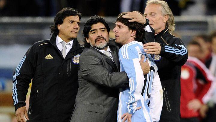 نظر دیگو مارادونا درباره مشکل لیونل مسی با بارسلونا چیست؟