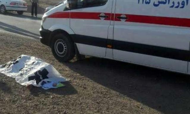 حادثه در جاده کازرون به شیراز