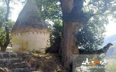 برج پیر شهریار؛ برج تاریخی زیبا در روستای لمرز مازندران، عکس