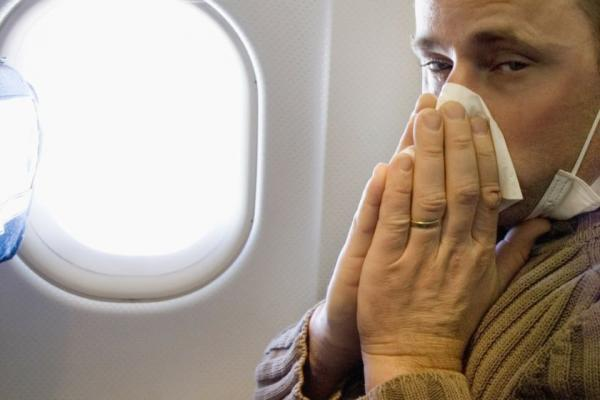 چند نکته برای پیشگیری از بیمار شدن در طول پرواز