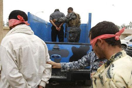 دستگیری 12 تروریست در استان نینوا