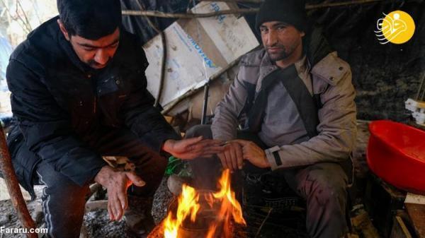 (تصاویر) کوشش پناهجویان برای زنده ماندن در بوسنی!