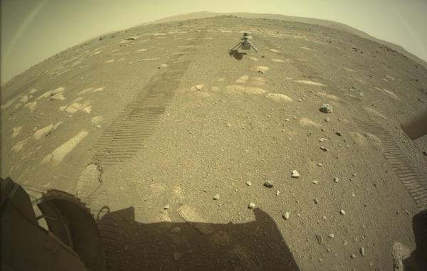 نبوغ با موفقیت روی سطح مریخ قرار گرفت