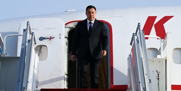رئیس جمهور قرقیزستان وارد دوشنبه شد