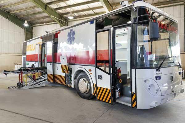 تولید اتوبوس آمبولانس ملی نتیجه اعتماد به توان داخلی
